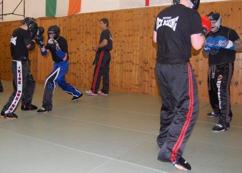 Sparring Class with World Champion Jim Caldecourt